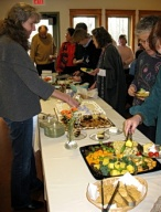 Friends gather for potluck monthly