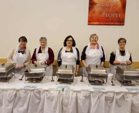 Red Cedar Friends assisted in serving breakfast for the 2017 Martin Luther King, Jr., breakfast sponsored by ACTION of Greater Lansing