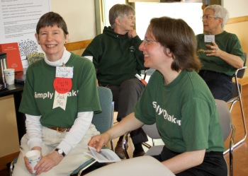 Red Cedar Friends celebrate the opening of their need meetinghouse in 2010.