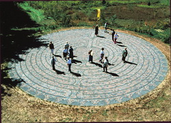 Labyrinth at The Weber Center