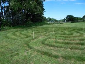 Labyrinth at the Siena Retreat Center