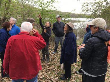 GPQM nature walk at Friends Lake